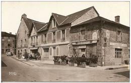 87 PEYRAT  Le CHATEAU  -  Hotel De France PLANCHAT  - Café TABAC  Du Champ De Foire SAVAUD - Other Municipalities