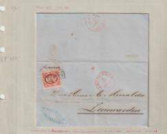 (A420) Brief 4-10-1861 Amsterdam Naar Leeuwarden Met NVPH 2 Plaat 7 Super Mooi.met Prachtig Handschrift. - Brieven En Documenten