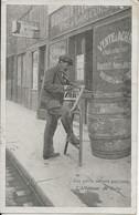 Paris - Petits  Métiers Parisiens -  Affûteur De Scie - Street Merchants