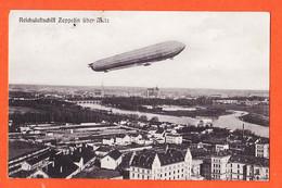 X57086 ♥️ Période Allemande METZ Moselle REICHSLUFTSCHIFF ZEPPELIN über METZ 1909 à BARBILAT Langres / KLINGENSTELN - Metz