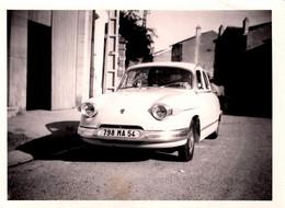Photo Originale Panhard PL 17 Immatriculée 798 MA 54 (1959-1965) - Enfant Au Volant ! - Cars