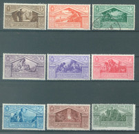 ITALY  - MNH/*** LUXE - 1930 - NASCITA DI VIRGILIO - Yv 263-271 - Mi 345-353 Sa S. 57 282-290 - Lot 23108 - 25c IS USED - Mint/hinged