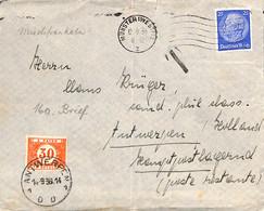 Allemagne Reich 1936  Lettre De Munster   (G0462) - Covers & Documents