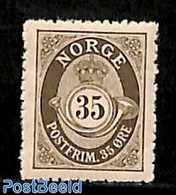 Norway 1909 35o, Stamp Out Of Set, (Mint NH), Stamps - Ungebraucht