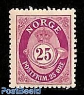 Norway 1909 25o, Stamp Out Of Set, (Unused (hinged)), Stamps - Ungebraucht