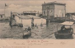 Cartolina - Un Saluto Da Livorno - Livorno