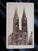 Photo CDV Anonyme - église Notre Dame De St Lô, Circa 1880 L530B - Old (before 1900)