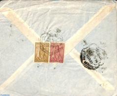 Angola 1941 Letter To New York, (Postal History), Stamps - Angola