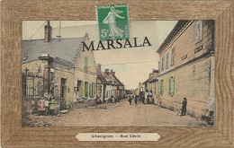 CPA  Chavignon  Rue  Cévin  (Colorisée) - Altri Comuni
