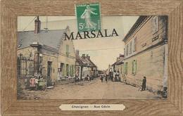 CPA  Chavignon  Rue  Cévin  (Colorisée) - Andere Gemeenten