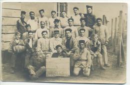 CARTE PHOTO MILITARIA ORIGINALE Groupe Soldats 5ème Régiment Spahis En 1927 - Regiments