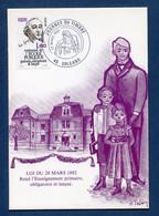 ⭐ France - Carte Maximum - Premier Jour - FDC - Journée Du Timbre - 1982 ⭐ - 1980-89