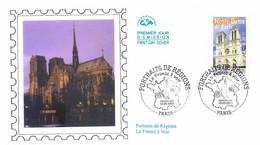 Enveloppe 1er Jour Notre-Dame De Paris, 2004 (YT 3705) - 2000-2009