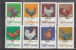 Vietnam 1986 - Farm Animals: Poultry, Mi-Nr. 1711/18, Used - Vietnam