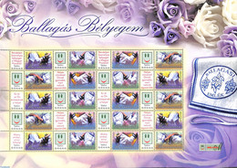 Hungary 2007 Personal Stamps Sheet 20v., (Mint NH), Stamps - Nuevos