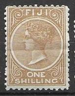 1881 Fiji Mint Hinge Trace * 50 Euros - Fold / Pli - Fiji (...-1970)