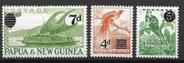 1957 Papua New Guinea Mint Very Low Hinge Trace * (5 Euros) - Papua New Guinea