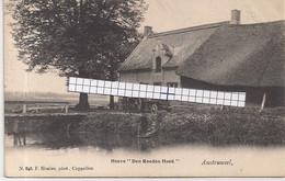 """AUSTRUWEEL-OOSTERWEEL-ANTWERPEN """"HERENHOEVE DEN ROODEN HOED"""" HOELEN 848 UITGIFTE 05.5.1903 TYPE 2 - Antwerpen"""
