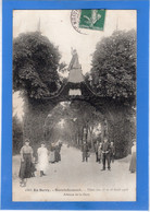 18 CHER - HENRICHEMONT Fêtes Des 15 Et 16 Août 1908, Avenue De La Gare (voir Descriptif) - Henrichemont