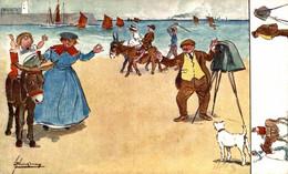 Oilette Raphael Tuck & Sons Ilustrator Lance Thackeray ANE DONKEY EZEL ESEL MULES Donkeycollection - Andere Zeichner