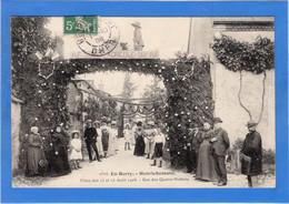 18 CHER - HENRICHEMONT Fêtes Des 15 Et 16 Août 1908, Rue Des Quatre-Nations - Henrichemont