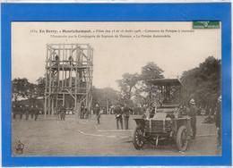 18 CHER - HENRICHEMONT Fêtes Des 15 Et 16 Août 1908, Concours Pompes Incendie(voir Descriptif) - Henrichemont