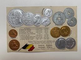 Belgium Coins 29 Munzen Monete Pièces De Monnaie Belgien Belgique Belgica Franc Frank Centimes Max Heimbrecht Berlin - Other
