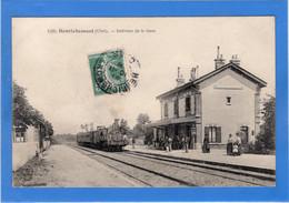 18 CHER - HENRICHEMONT Intérieur De La Gare - Henrichemont