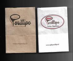 2 Tovagliolini Da Caffè - Saffè Posillipo - Company Logo Napkins