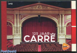 Netherlands 2012 125 Years Carre Prestige Booklet, (Mint NH), Nature - Elephants - Horses - Performance - Dance & Ballet - Nuovi