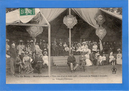 18 CHER - HENRICHEMONT Fêtes Des 15 Et 16 Août 1908, Concours Pompes Incendie - Henrichemont