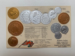 Empire Of British India And Ceylon Coins 24 Munzen Monete Pièces De Monnaie Pound Sterling Rupee Anna Pice M.H.Berlin - Coins (pictures)