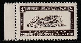 GRAND LIBAN - N°122 ** (1930) Congrès Séricole à Beyrouth - Unused Stamps