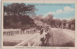 CPA  Ile D'Oléron Saint Trojan  (17) L'appontement Du Préventorium Lannelongue  Office Public Hygiène Sociale 75 - Ile D'Oléron