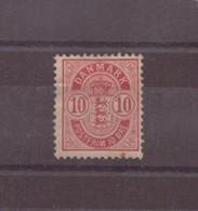 Danemark, 1882 / 1895, N° 36 A * - Ungebraucht