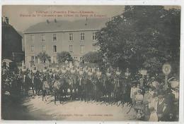 VILLERUPT Peloton Du 3° Cuirasiers Aux Greves Du Bassin De Longwy. - Altri Comuni