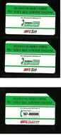 341 - 342 - 344 Numero Verde 5.000 E 10.000 + 5.000 Telecom - Öff. Werbe-TK