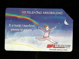 936 Golden - 113 Telefono Arcobaleno Da Lire 5.000 Telecom - Öff. Werbe-TK