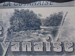 EGUYANNE FRANCAISE - STE FRANCAISE LA GUYANAISE - ACTION DE 100 FRS - PARIS 1904 - PEU COURANT - Non Classés