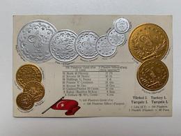 Turkey Coins 7 Munzen Monete Pièces De Monnaie Agypten Turkei Turquie Turquia Lira Piastre Para Max Heimbrecht Berlin - Turkey