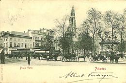 033 556 - CPA - Belgique - Antwerpen - Anvers - Place Verte - Antwerpen