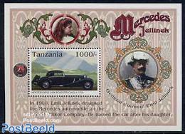 Tanzania 1996 Mercedes Benz S/s, (Mint NH), Transport - Automobiles - Voitures