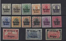 Belgique: OC  10/25 *  (manque Le N°15) - [OC1/25] General Gov.