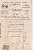 Manufacture Générale D'instruments De Musique P. Senecaut Bruxelles 1927 - 1900 – 1949