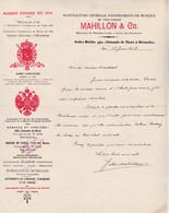 Manufacture Générale D'instruments De Musique Mahillon & Co  Bruxelles 1908 - 1900 – 1949