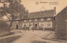 Postkaart-Carte Postale - KIEZEGEM - Kieseghem - Hoeve De Bruyn  (C341) - Tielt-Winge