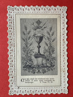 Image Pieuse - DENTELLE - Anno 1905 Pretre - Priester JUDOCUS ARTHUR VERWIMP NORDERWIJCK NOORDERWIJK - 12 Cm X 8 Cm - Devotion Images