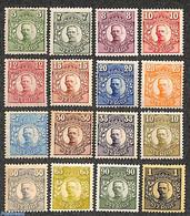 Sweden 1911 Definitives, Gustav V 16v, (Unused (hinged)), Stamps - Ungebraucht