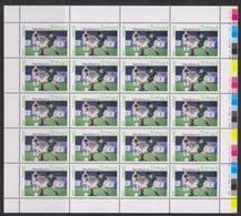 Soccer- Football - CHAD - Sheet MNH - Otros