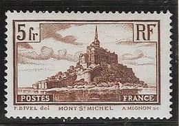 France 1929  -   N° 260 Type II, Neuf ** - Cote Y&T  45 € - Unused Stamps